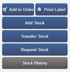 Inventory Stock history