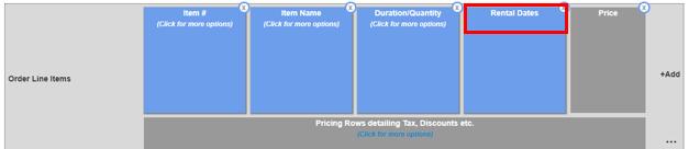 printout rental dates