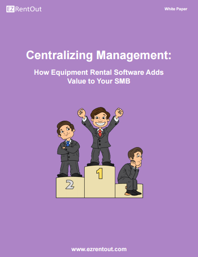 small business equipment rental software