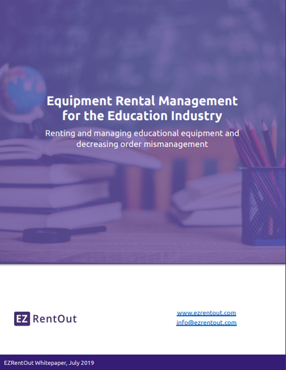 education rental management